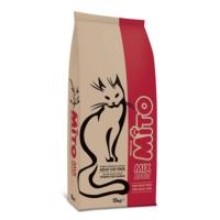 Mito Mix Tavuklu ve Sebzeli, Renkli Taneli Yetişkin Kedi Maması 1Kg