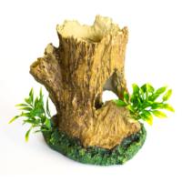 Chicos-Dekor Bitkili Ağaç Kütük (14X13X15)
