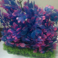 Langhu Plastik Gür Demet Bitki 40 Cm