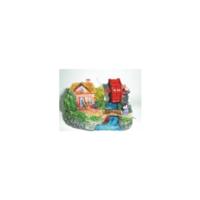 Xiongfa Akvaryum Dekoru Değirmen 9X6X7