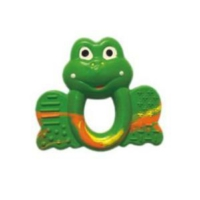 Percell Kurbağa Desenli Çingırak Oyuncak
