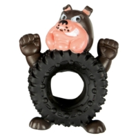 Wonpet Vinil Tekerlek Köpek Beyaz Dilli 12,5 Cm