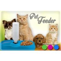 Pratik Finepet Pet Feeder Kedi Ve Köpek İçin Yemek Su Kabı