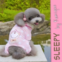 Sleepy By Kemique Monkey Köpek Pijama - Pembe