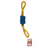 Flip Köpek Diş İpi (Sarı-Lacivert) 170 Gr 45 Cm