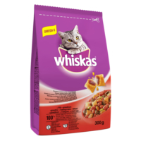 Whiskas Biftek Sebzeli Yetişkin Kedi Maması 300 gr
