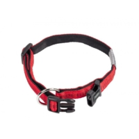 Nobby ''Soft Grip'' Emniyet Kilitli Köpek Boyun Tasması 40/55 cm X 25 mm Kırmızı