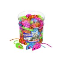 Nobby Renkli Sisal Fare Kedi Oyuncağı 7 cm
