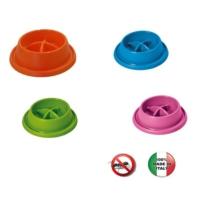 Georplast Adagio Anti-Slip Yemeyi Yavaşlatan Küçük Boy Mama Kabı 21,5 x 20,5 x 5,5 h (cm)