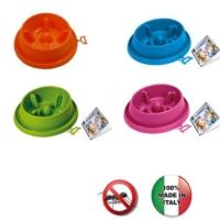Georplast Adagio Anti-Slip Yemeyi Yavaşlatan Orta Boy Mama Kabı 25,5 x 23 x 6,5 h (cm)