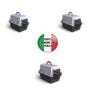 Georplast ''TRANSPORTİNO'' Plastik Metal Kapılı Taşıma Kabı 51 x 33 x 32 h cm