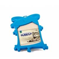 Georplast '' MİCKEY'' Plastik Kabı ve Karton Tırmalama Alanı 44,5 x 31,5 x 3 cm