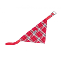 Nobby Collar with scarf Köpek Bandana ve Tasması 35 cm x 10 mm Kırmızı