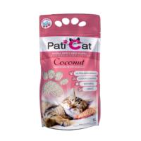 Paticat Coconut Hindistan Cevizi Kokulu Kedi Kumu (İnce Taneli) - 10 Lt