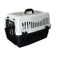 Kedi Köpek Taşıma Çantası 47x32x32cm Gri