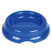 Trixie kedi plastik yem su kabı 0 , 2lt / 11cm Mavi