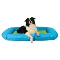 Trixie köpek dış mekan yatağı 100x70cm K.Mavi