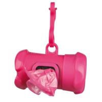 Trixie Köpek Tuvalet Poşeti Kabı Standart Ölçülü Pembe Hediyeli