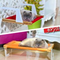 Gorya Askılı Kedi Yatağı - Pembe