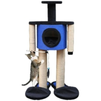 Agira Robot Yuvalı Kedi Tırmalama Ve Oyun Standı Yükseklik 100 Cm