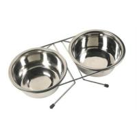 Happy Paws Kedi Ve Köpek İkili Çelik Mama Ve Su Kabı 2X13Cm