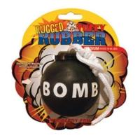 Tuffy Rugged Rubber Bomba Köpek Oyuncağı (XS)