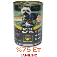 Spirit Of Nature Devekuşu Etli Köpek Konservesi 415 Gr
