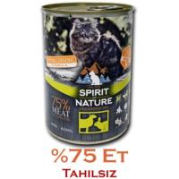 Spirit Of Nature Kuzu Ve Tavşan Etli Kedi Konservesi 415 Gr