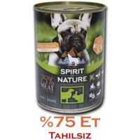 Spirit Of Nature Kuzu Ve Tavşan Etli Köpek Konservesi 415 Gr