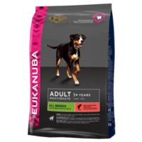 Eukanuba Yetişkin Tüm Irk Köpekler İçin Somonlu Ve Pirinçli Kuru Köpek Maması 12 Kg