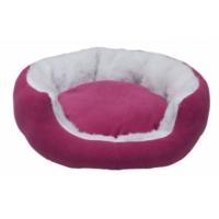 Bronza Poli Kedi ve Köpek Yatağı Pembe