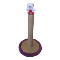 Lepus Oval Kedi Tırmalama Tahtası 33*48 cm Mor
