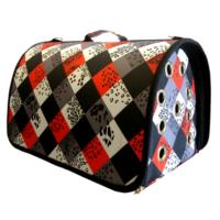 Lepus Flybag Kedi Köpek Taşıma Çantası Desenli 25*35*40 cm