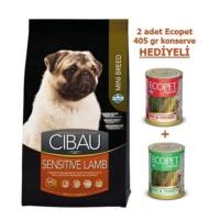 Cibau Kuzu Etli Ve Pirinçli Mini Irk Köpek Maması 2,5 Kg