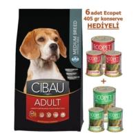 Cibau Tavuklu& Balıklı Yetişkin Medium Köpek Maması 12 Kg