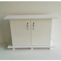 Kanki Pet Akvaryum Düz Sehpa Beyaz 100 Cm ( 100x31x67)