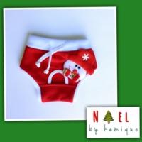 Snowman Köpek İç Çamaşırı - Noel By Kemique