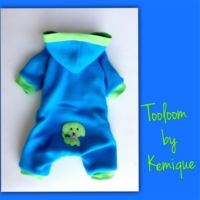 Blue Dog Polar Tulum - Tooloom By Kemique