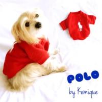 Kırmızı Köpek SweatshirtPolo By Kemique