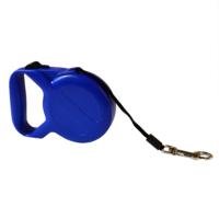 Dog Leash Otomatik Şerit Tasma Mavi 5m