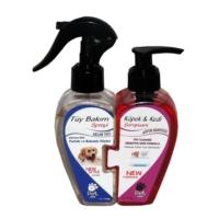 Pet Love Kalp Şekli İkili Set - Pet Tüy Bakım Sprey ve Şampuan 150g/175g