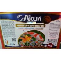 Art Akua Premıum Koi Ve Japon Balığı Yemi 4Kg Kova