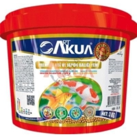 Art Akua Premium Koi Ve Japon Balığı Yemi 3 Kg Orjinal Kova