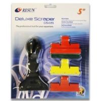 Resun Deluxe Scraper Ds 05 Cam Temizleme Seti (3 Başlıklı)13 Cm
