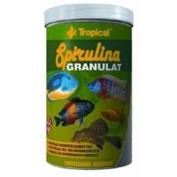 Tropical Spirulina Granulat Bitkisel Balık Yemi 1000Ml 380Gr