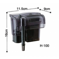 Dophin H100 Askılı Filtre Şelale Filtre 350 L/H