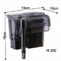 Dophin H200 Askılı Filtre Şelale Filtre 370 L/H