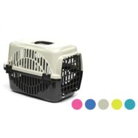 Flip Kedi Köpek Taşıma Kafesi Renkli Pembe
