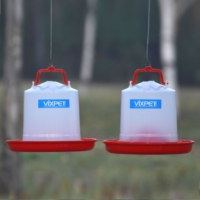 Vixpet Tavuk - Civciv Yemlik ve Suluk Takımı TE 5 kg Seperatörlü