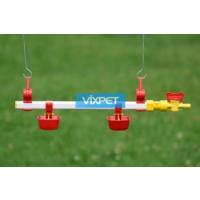 Vixpet Nipel Sulama Sistemi 40 cm 2 Dilli Çanak ve Askı Aparatı